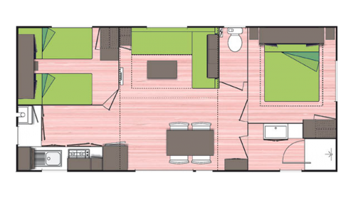 mobil homes grand luxe plan