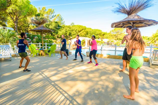 activites sportives au camping
